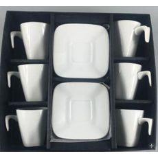 Coffret 6 tasses MIRO en Porcelaine