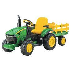 PEG PEREGO Tracteur John Deere Ground Force  12 V - 1 place