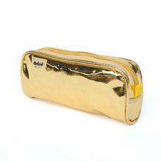 Trousse rectangulaire 1 compartiment métallique doré OXFORD
