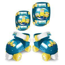STAMP Set de patins à roulettes avec protections - Minions 2