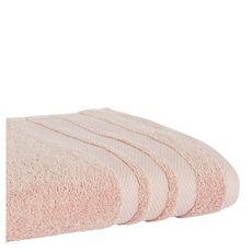ACTUEL Drap de bain uni en coton 500 g/m² (Rose pâle )