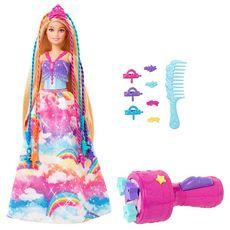 MATTEL Poupée Barbie - Barbie Princesse Tresses Magiques