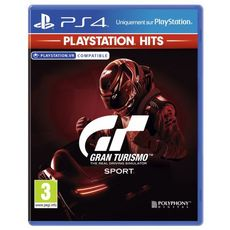 SONY Gran Turismo Sport Playstation Hits PS4