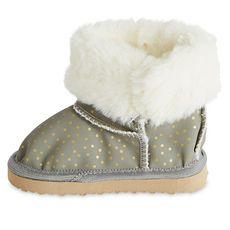 IN EXTENSO Boots fourrées bébé fille (Gris)