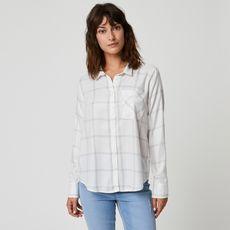 IN EXTENSO Chemise manches longues à carreaux femme