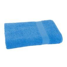 Lot 2 Gants de toilette unis en coton 400gr/m² ELISA (Bleu)