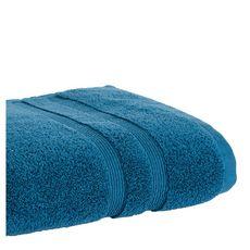 ACTUEL Drap de bain uni en coton 500 g/m² (Bleu)