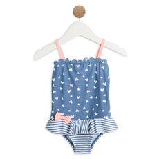 IN EXTENSO Maillot de bain 1 pièce bébé fille (Bleu)