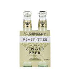 Fever Tree FEVER TREE Fever Tree Ginger Beer SS Premium Mixer 4X20cl