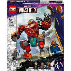 LEGO Marvel 76194 L'Armure Sakaarienne d'Iron Man de Tony Stark dès 8 ans