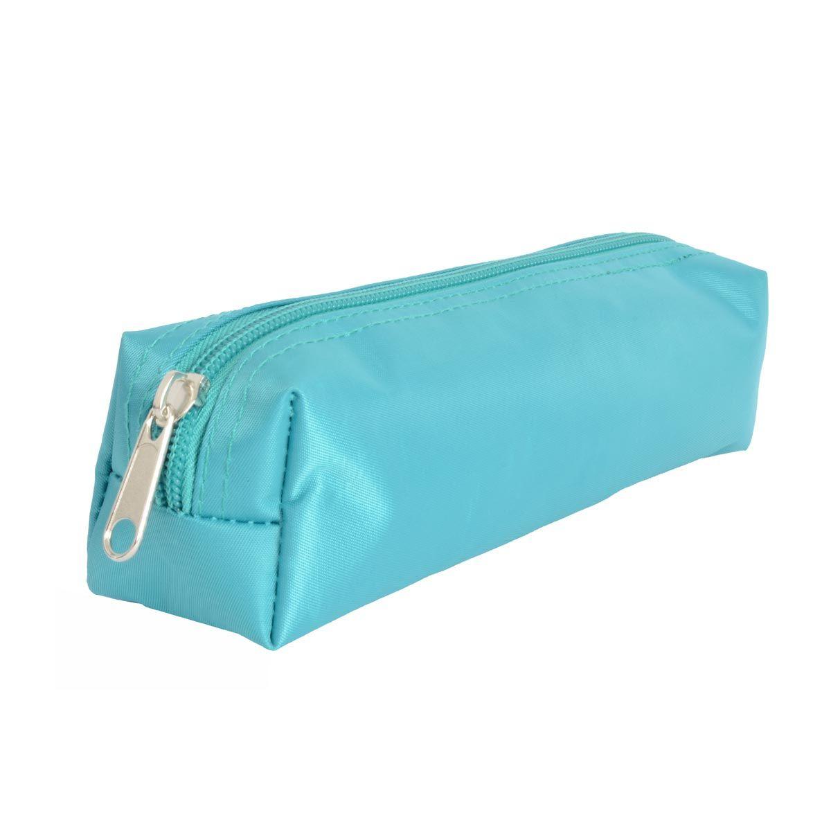 Trousse satin fille twill color bleu