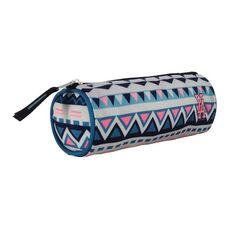 YOUNG'S ATTITUDE Trousse scolaire ronde polyester multicolore motif aztèques