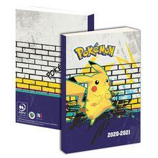 Agenda scolaire journalier Pikachu POKEMON 2020-2021