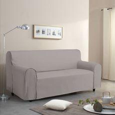 Housse de canapé emboitant en polycoton