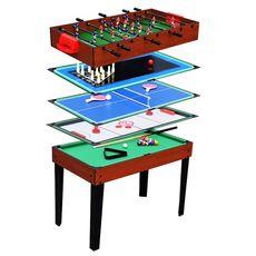 Table de jeux 5 en 1