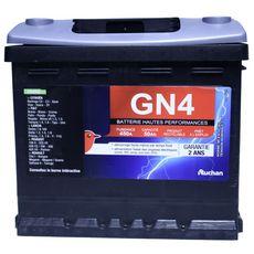 AUCHAN BATTERIE pour auto GN4450A 50 AH