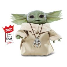 HASBRO Star Wars The Mandalorian - Figurine Interactive The Child Animatronique alias Baby Yoda - 19cm