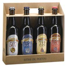 Brasserie de bellefois Coffret 4 bières artisanales du Poitou 4x75cl 4x75cl