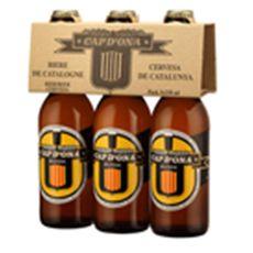Cap d'ona Bière blonde pur malt des Alberes 5,5% 3X33cl 3X33cl