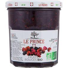 THOMAS LE PRINCE Thomas Le Prince confiture fruits rouges bio 350g
