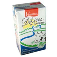 LAITERIE VERNEUIL Verneuil Délices de Touraine lait demi-écrémé 6x1l