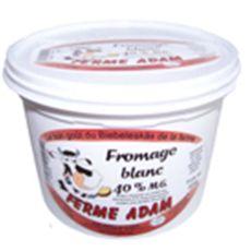LES FRERES ADAM Les Frères Adam fromage blanc 40% 500gr
