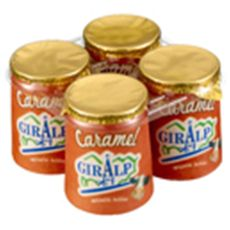GIRALP Giralp pot carton caramel 4x125g