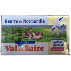 VAL DE SAIRE Beurre doux 250g 250g
