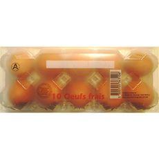 ROUSSILLON OEUFS ROUSSILLON ŒUF Œuf moyen de poules élevées au sol x10 10 œufs