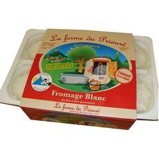 LA FERME DU PRIEURE La Ferme du Prieuré faisselle lait entier pasteurisé 6x120g 6x120g