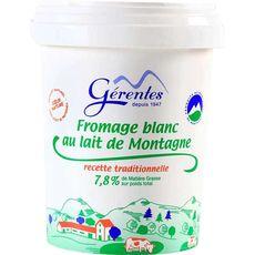 LES MONTS YSSINGELAIS LES MONTS YSSINGELAIS Fromage blanc 500g 500g