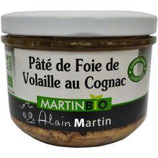 Alain Martin Terrine bio de foie de vollaile 180g