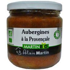 ALAIN MARTIN Alain Martin Aubergines bio à la provencale 380g 380g