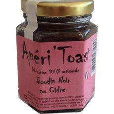 Apéri'toast boudin noir au cidre 100g