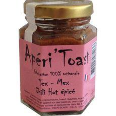 Apéri'Toast Tartinable tex-mex chili hot épicé 100g