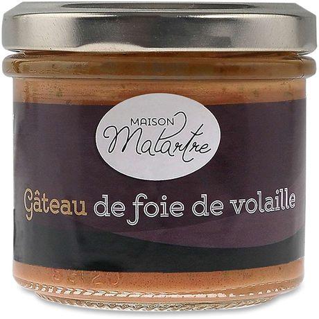 Maison Malartre - Gâteau De Foie De Volaille 100G