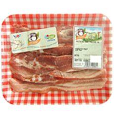 Charcuterie Cosme poitrine de porc nature tranche x4 -500g