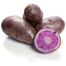 Pommes de terre de consommation violette bleu d'artois 1kg 1kg