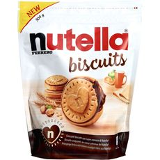 NUTELLA Nutella biscuits croquants x22 -304g