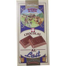 MONTAGNES DE SAVOIE Montagnes de Savoie Tablette de chocolat au lait dégustation 100g 1 pièce 100g