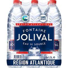 JOLIVAL Jolival Eau de source plate charentaise 6x1,5l 6x1,5l