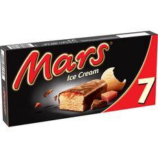 MARS Barre glacée au caramel 7 pièces 292,6g