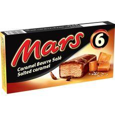 MARS Barre glacée au caramel et beurre salé 6 pièces 223,8g