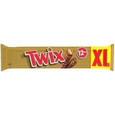 Twix TWIX Barres chocolatées au biscuit recouvert de caramel