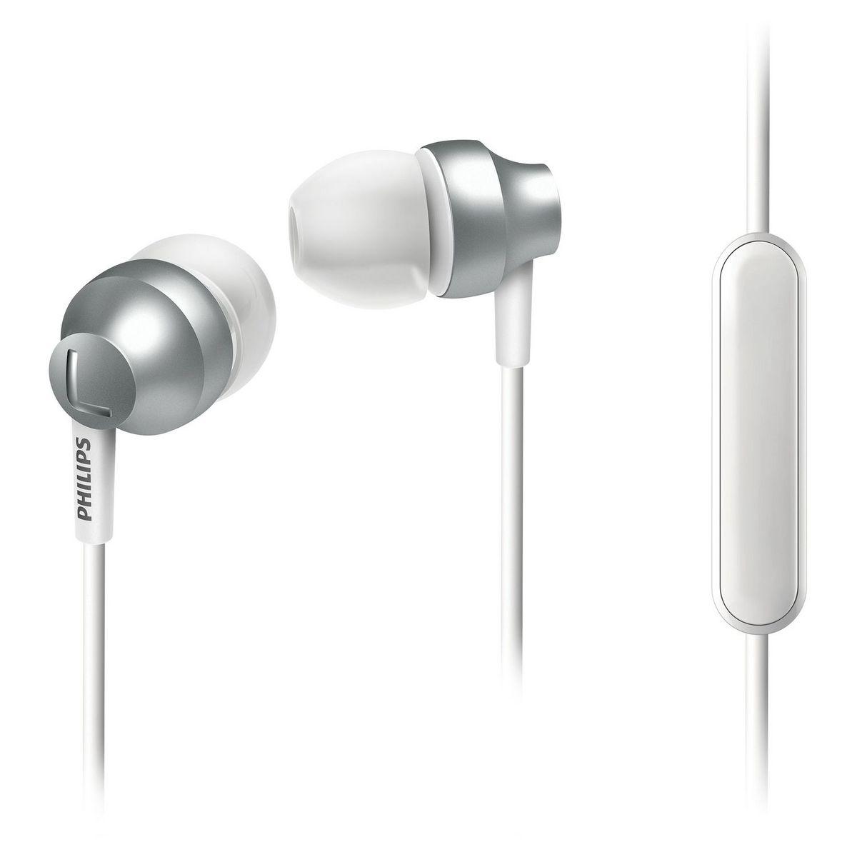 Écouteurs filaires - Argent - SHE 3855