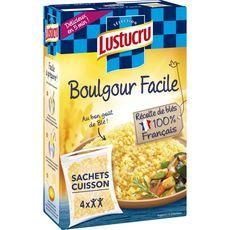 Lustucru LUSTUCRU Boulgour facile sachets cuisson prêt en 5 min