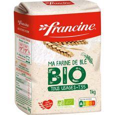 FRANCINE Farine de blé bio T55 1kg