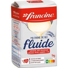 FRANCINE Farine de blé fluide l'originale anti-grumeaux T45 1kg