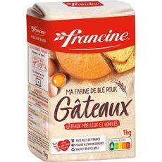 FRANCINE Farine de blé pour gâteaux 1kg