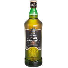 CLAN CAMPBELL Scotch whisky écossais blended malt 40% 1l